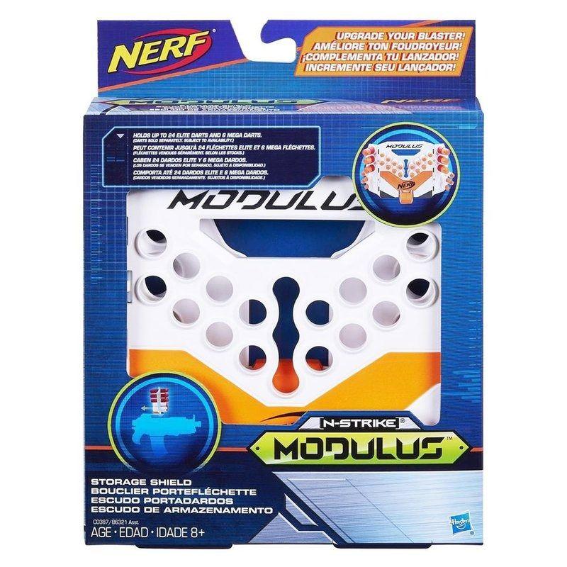 Nerf Modulus Acessório Gear Escudo De Armazenamento B6321