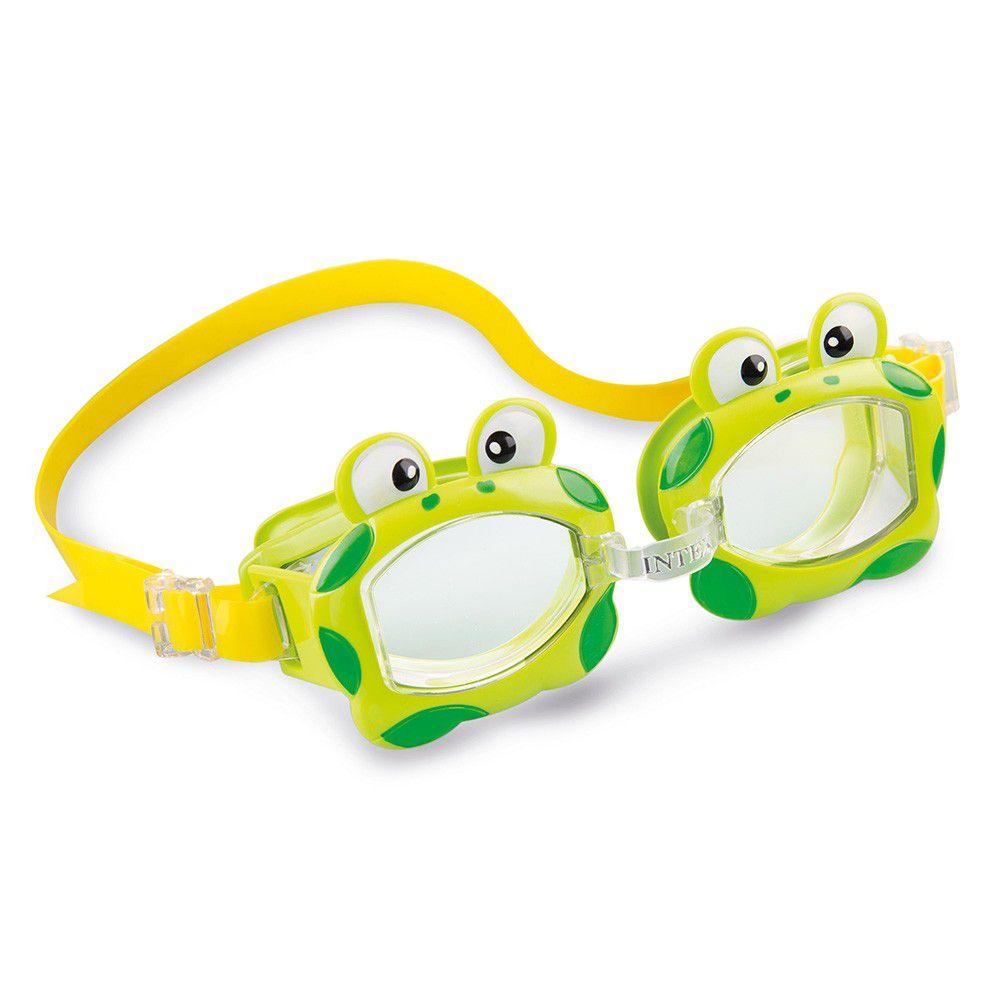 Oculos de Natação Infantil Bichinhos Animados - Intex 55603