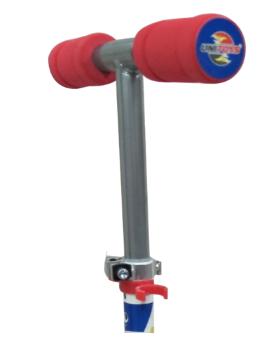 Patinete Infantil Super Rodas Vermelho ou Roxo - Unitoys