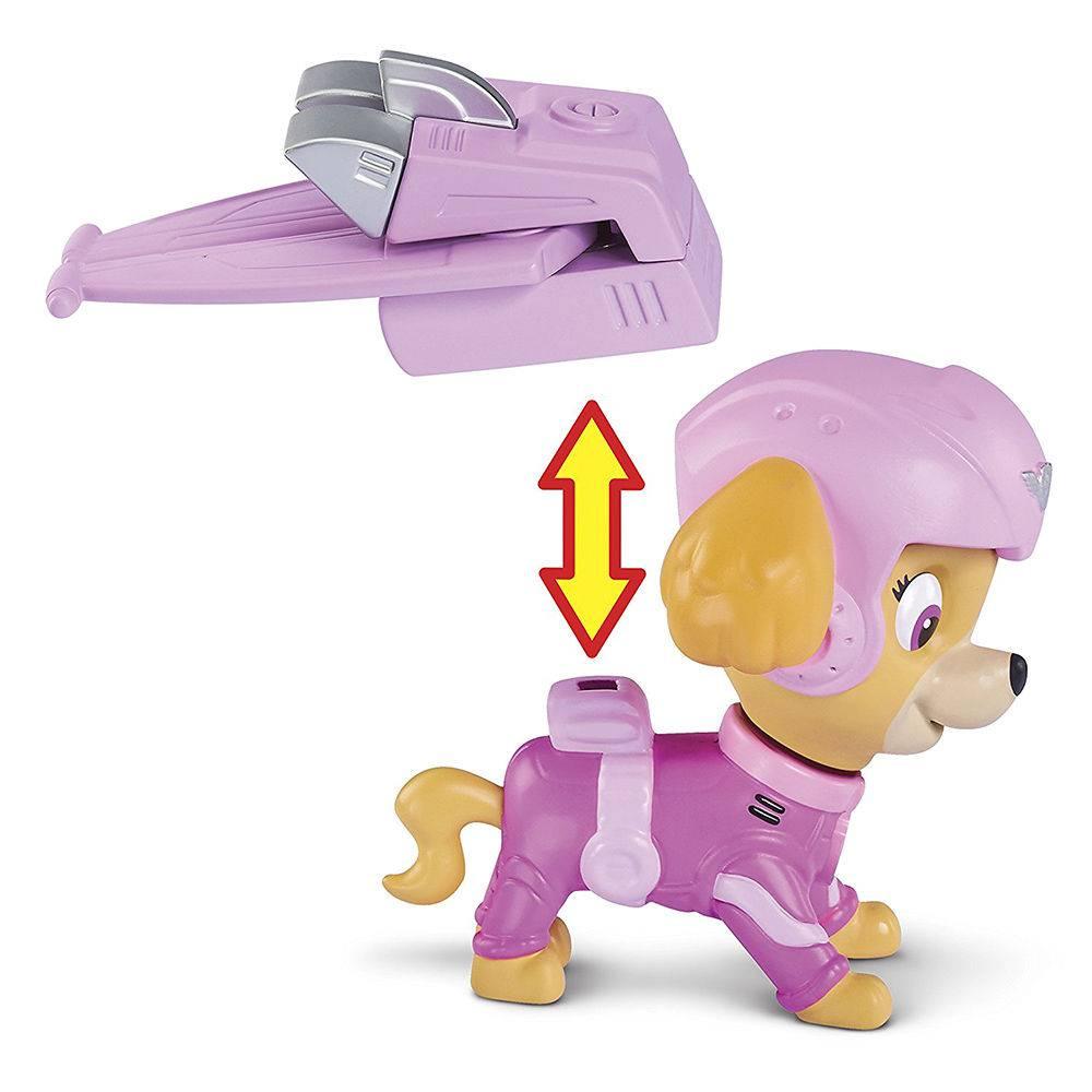 Patrulha Canina Figura De Resgate Aéreo Skye Sunny