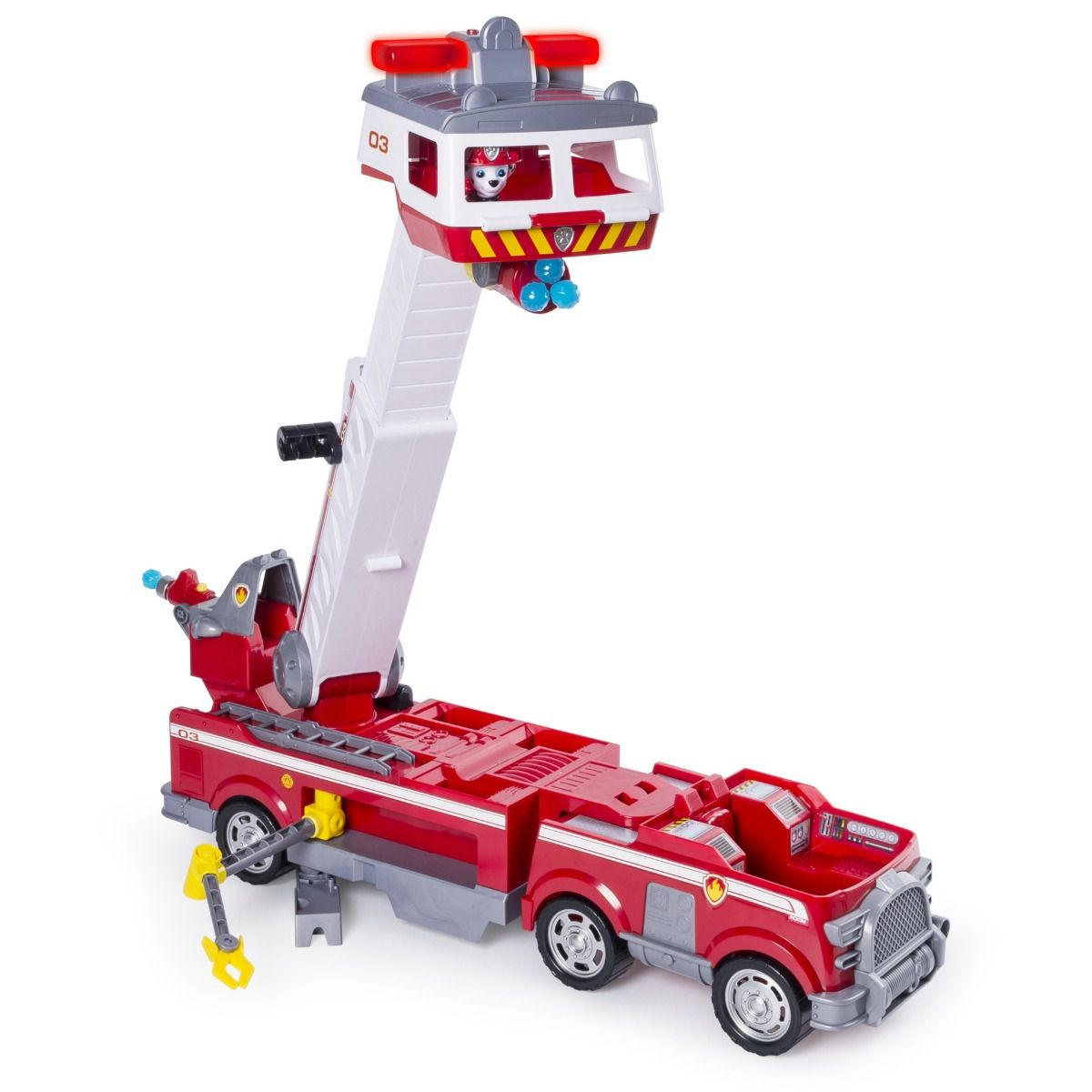 Patrulha Canina Ultimate Bombeiro Fire Truck Resgate Marshal