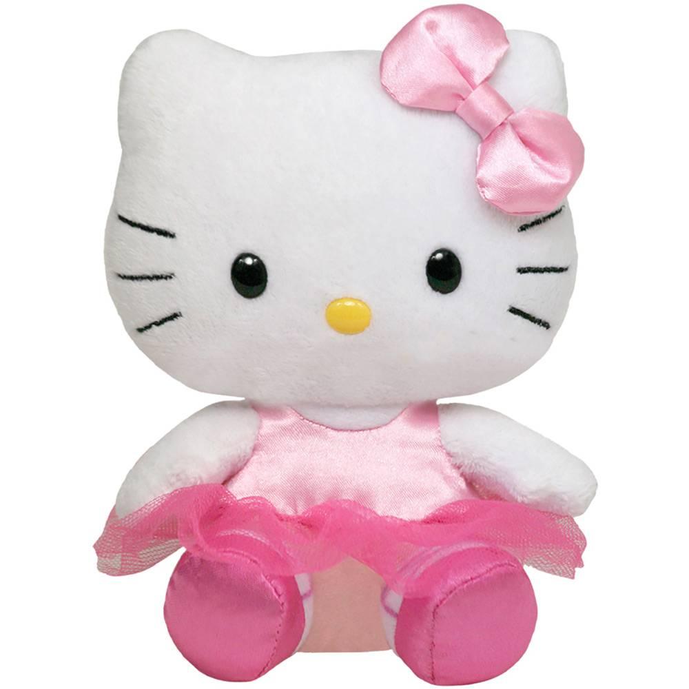 Pelúcia Beanie Babies Ty Hello Kitty Bailarina - Original Dtc