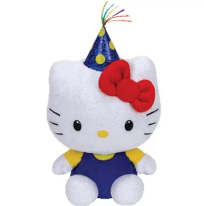Pelúcia Beanie Babies Ty Hello Kitty Classica - Original Dtc