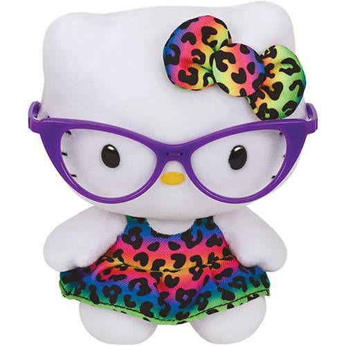 Pelúcia Beanie Babies Ty Hello Kitty Fashion - Original Dtc
