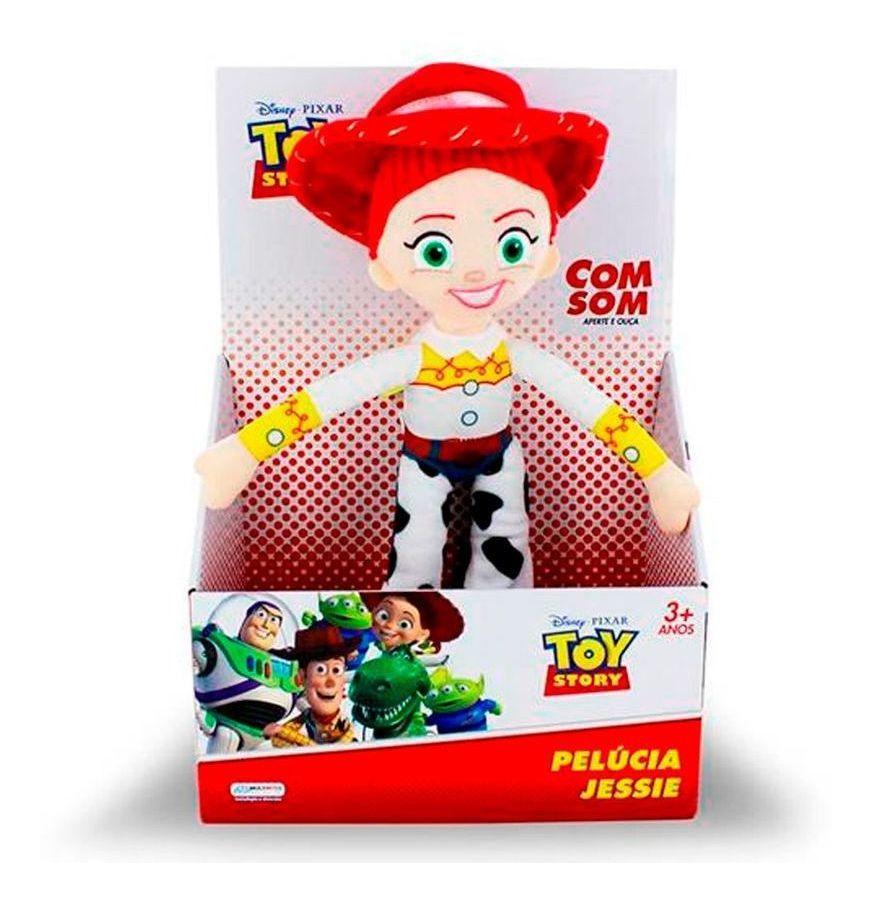 Pelúcia Jessie Com Frases Toy Story - Multikids