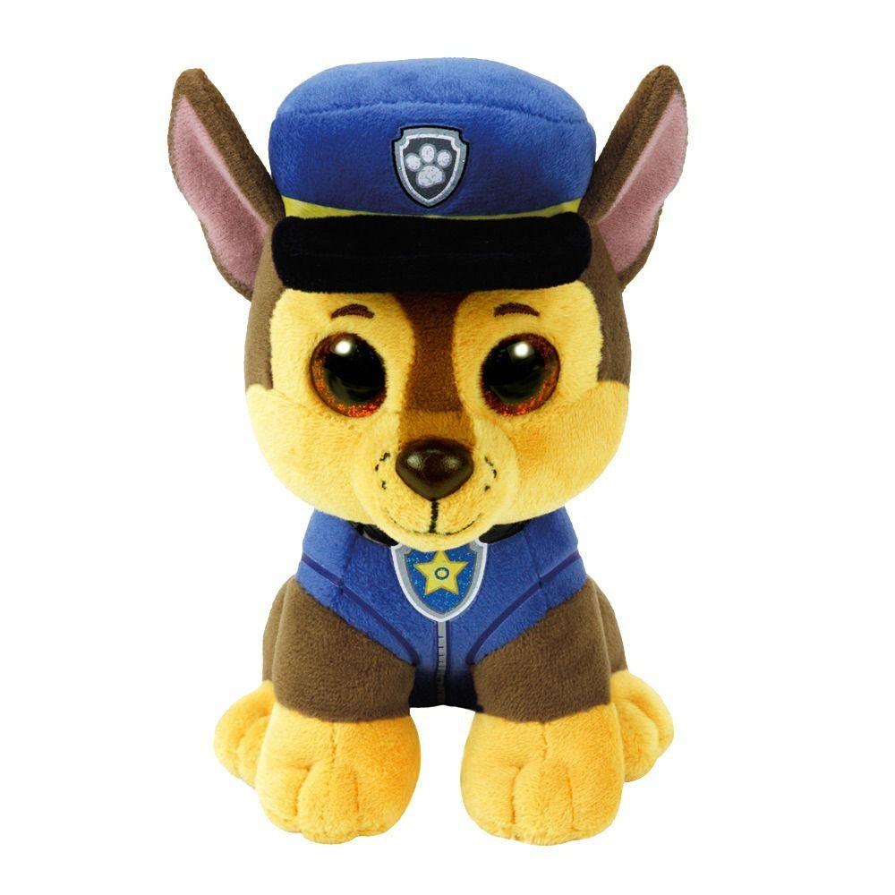 Kit Pelúcia Patrulha Canina Chase +Carrinho Sea Patrol Zuma