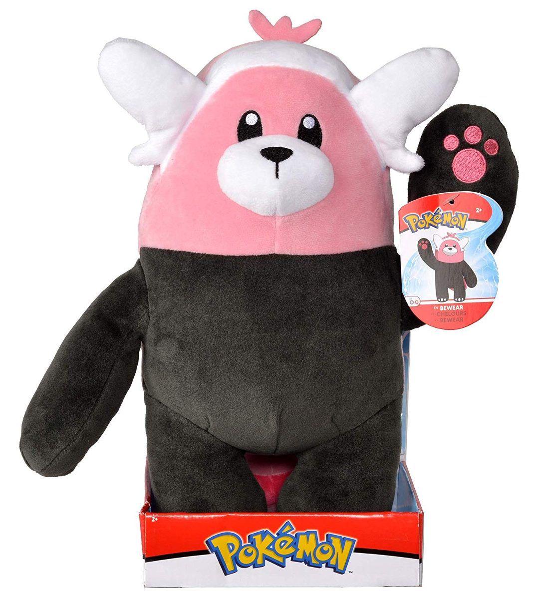 Pokémon Pelúcia Bewear 26 Cm Original - Dtc 4849