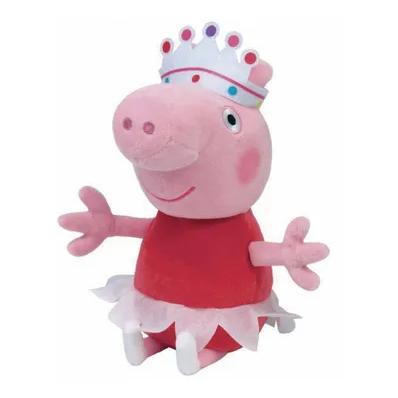 Pelúcia Turma Peppa Pig 20cm - Ty Beanies Babies Dtc