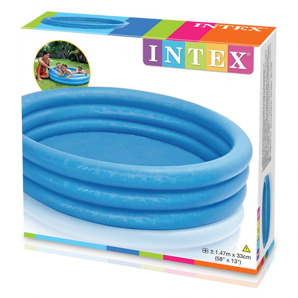 Piscina Infantil 330Litros Intex Azul 1,47x33 Cm