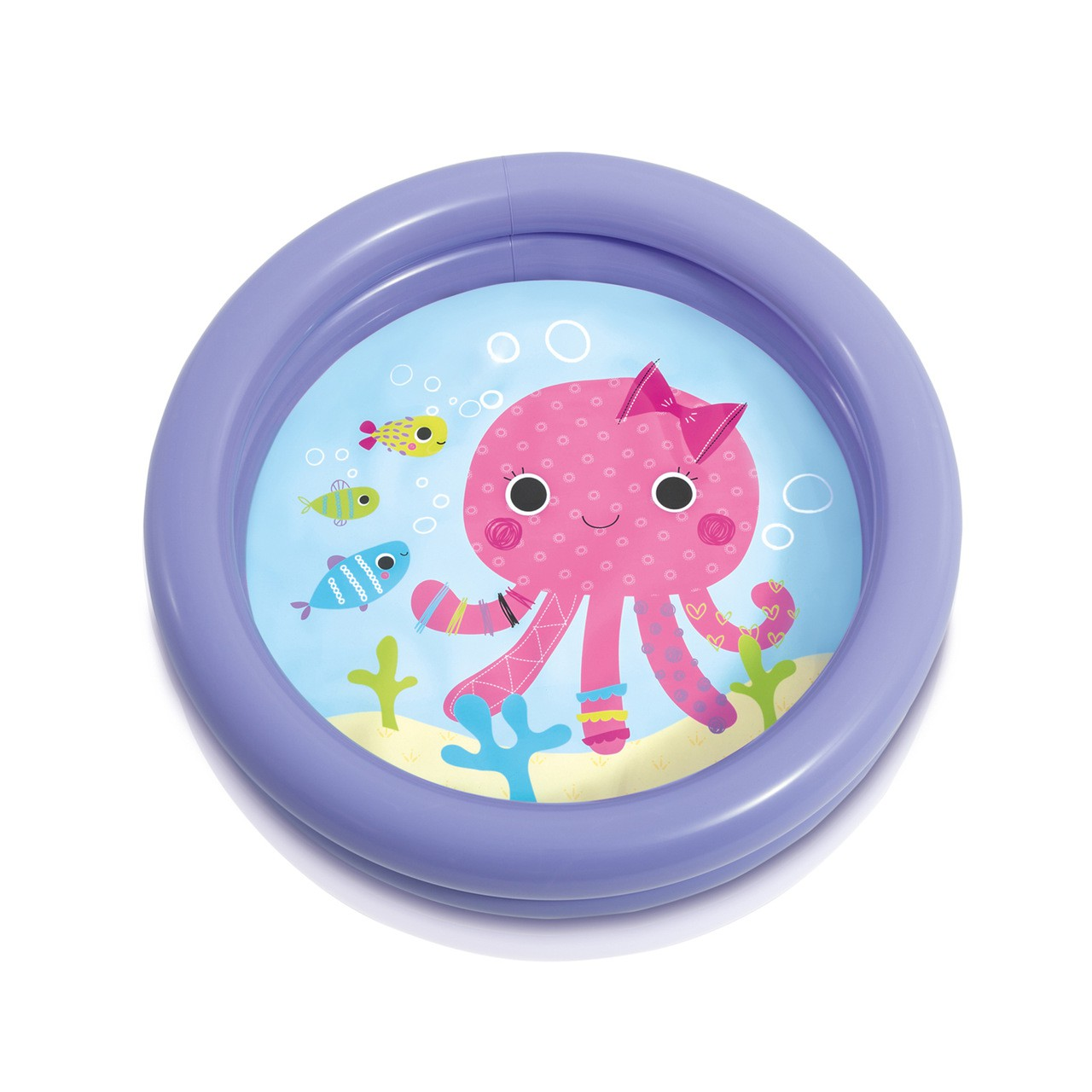 Piscina Infantil Inflável Baby 17L Roxo - Intex 59409