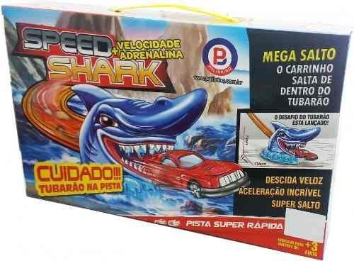 Pista Super Rápida Speed Shark - Polibrinq