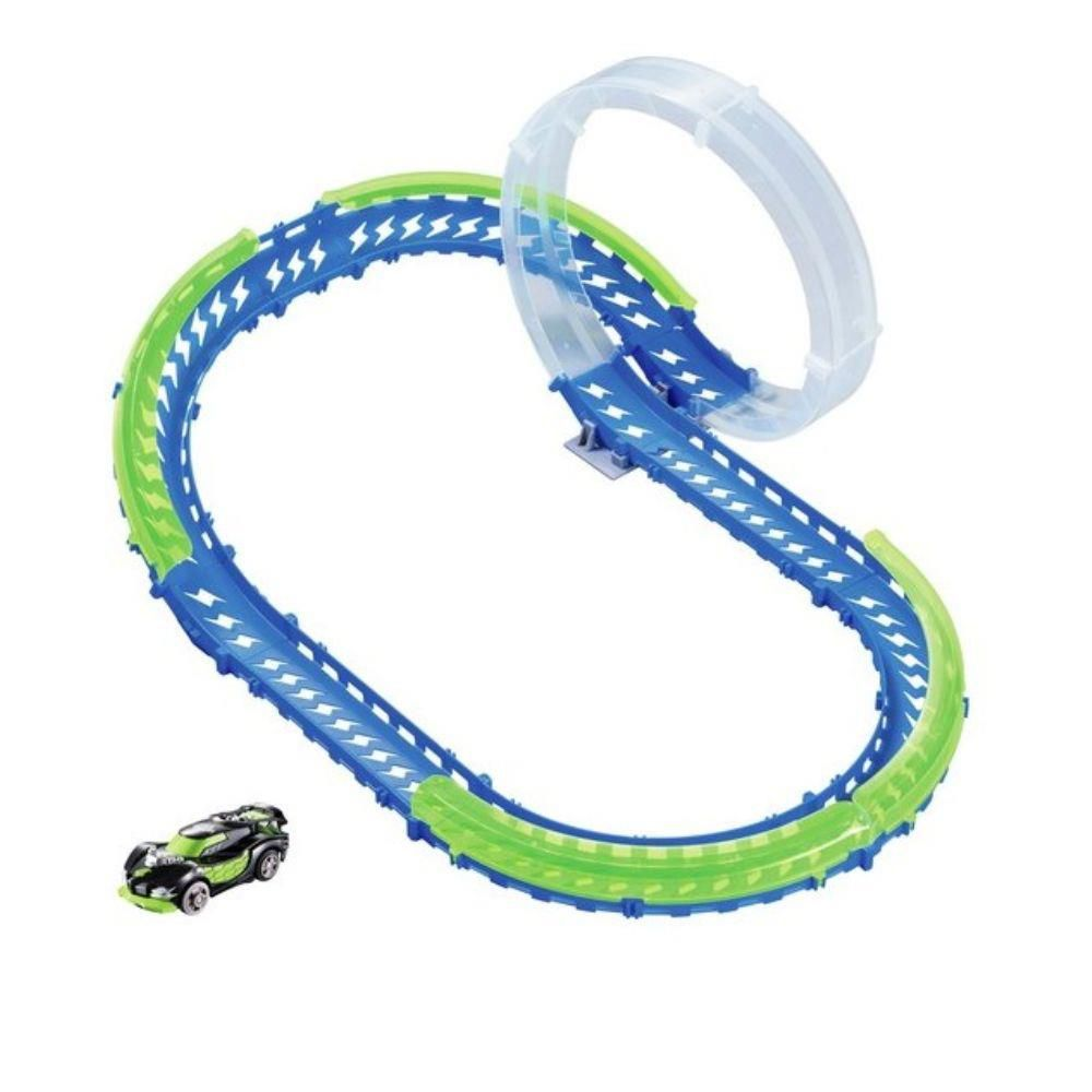 Pista Wave Racers Skyloop Rally Veículo E Pista Loop 360 Dtc