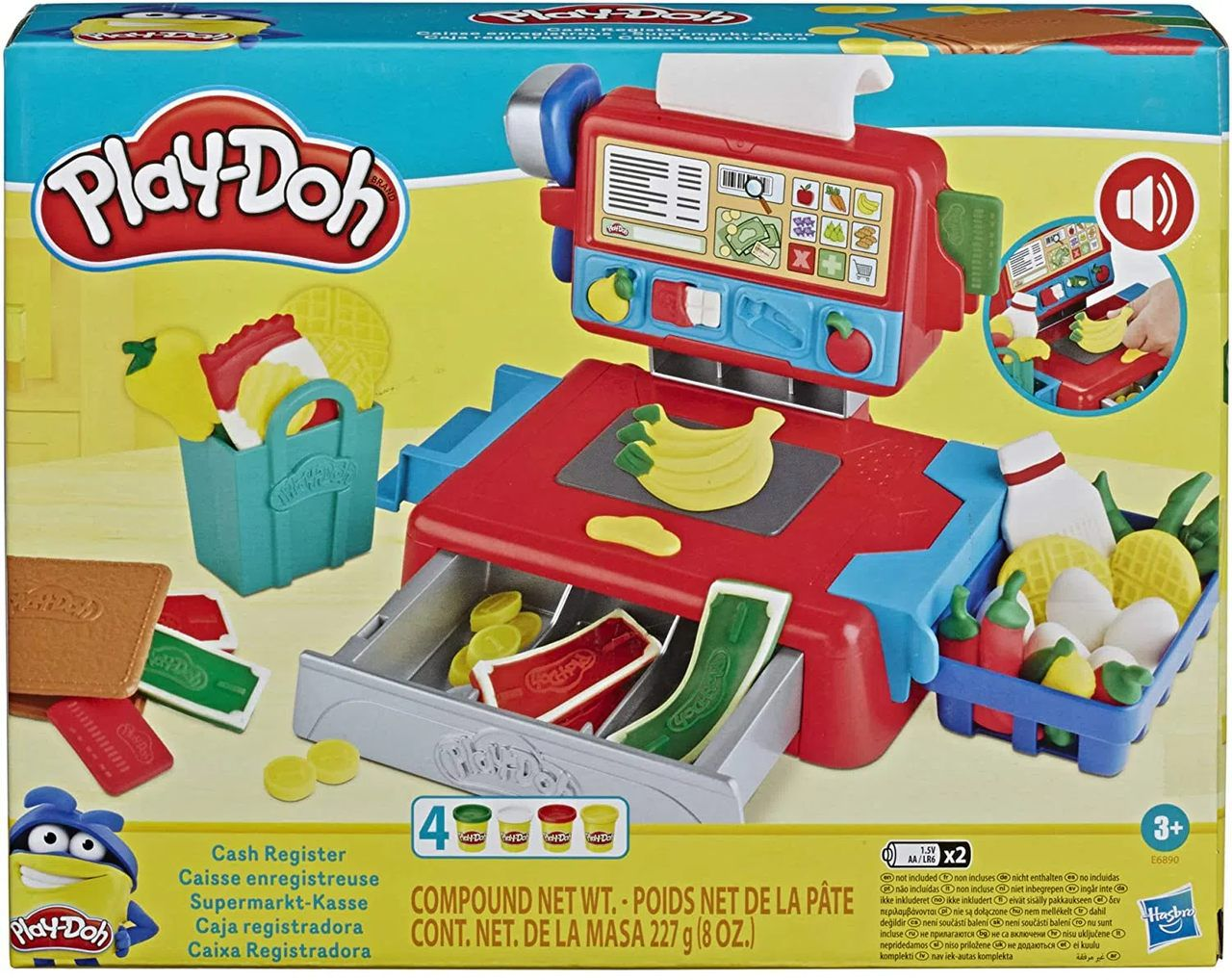 Play Doh Massinha Caixa Registradora - Hasbro E6890