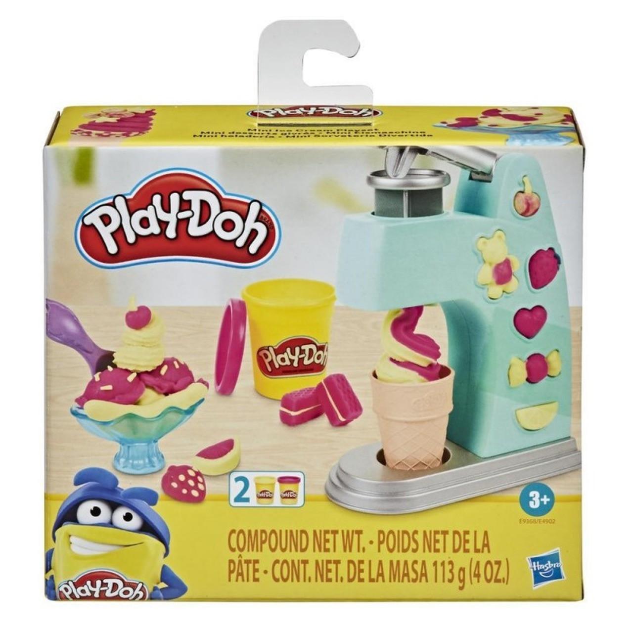 Play Doh Massinha Mini Sorveteria Divertida - Hasbro E9368