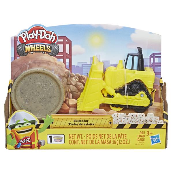 Play Doh Massinha Trator de Esteira Wheels - Hasbro E4575