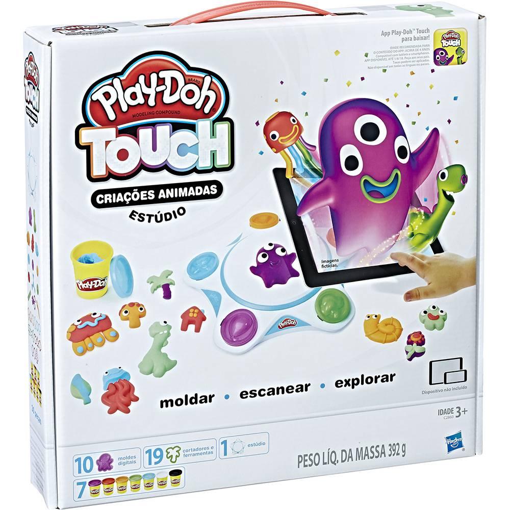 Play-Doh Touch Estúdio Criações Animadas - Hasbro