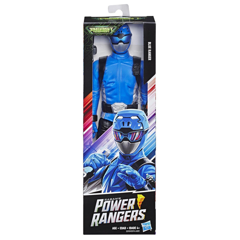 Power Rangers Boneco Figura Ranger Azul- Hasbro E5914