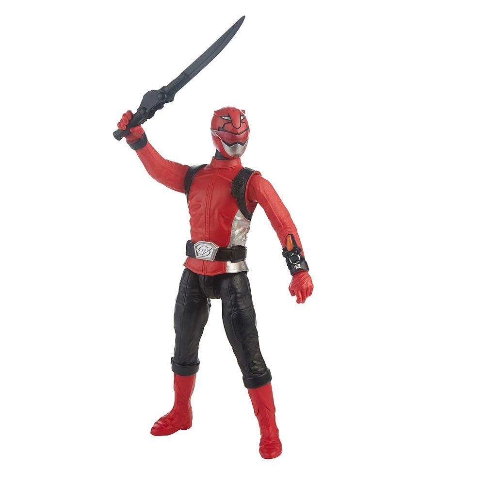 Power Rangers Boneco Figura Ranger Vermelho - Hasbro E5914