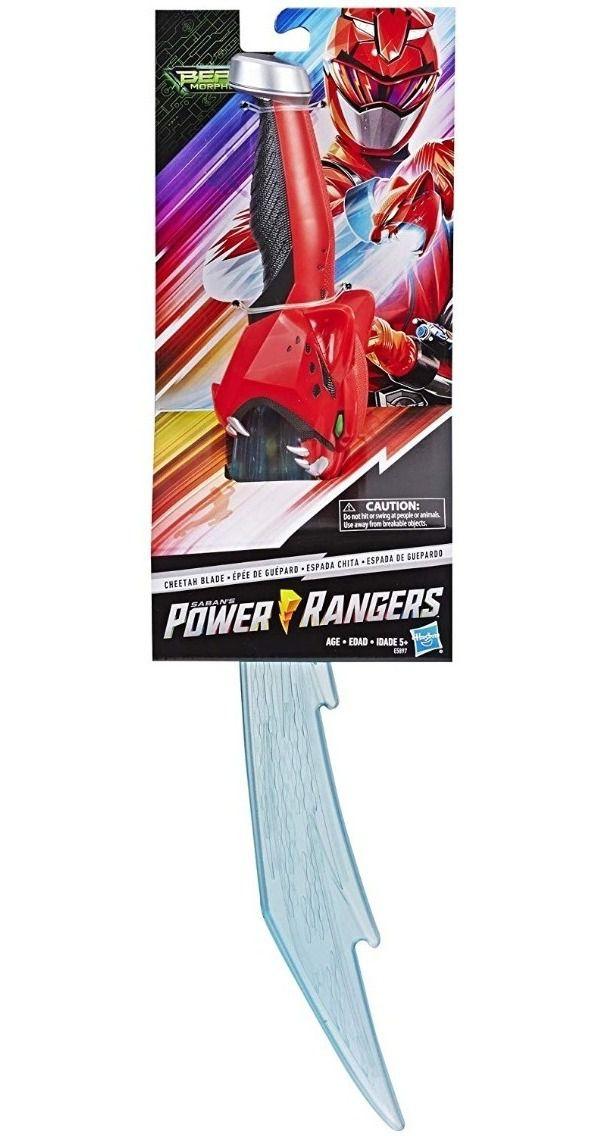 Power Rangers Espada Guepardo Vermelho - Hasbro E5897