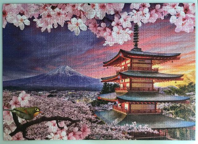 Quebra Cabeça 5000 Peças Monte Fuji - Grow