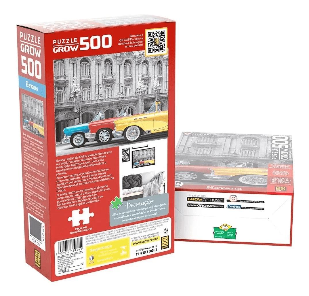 Quebra Cabeça 500 Peças Havana - Grow