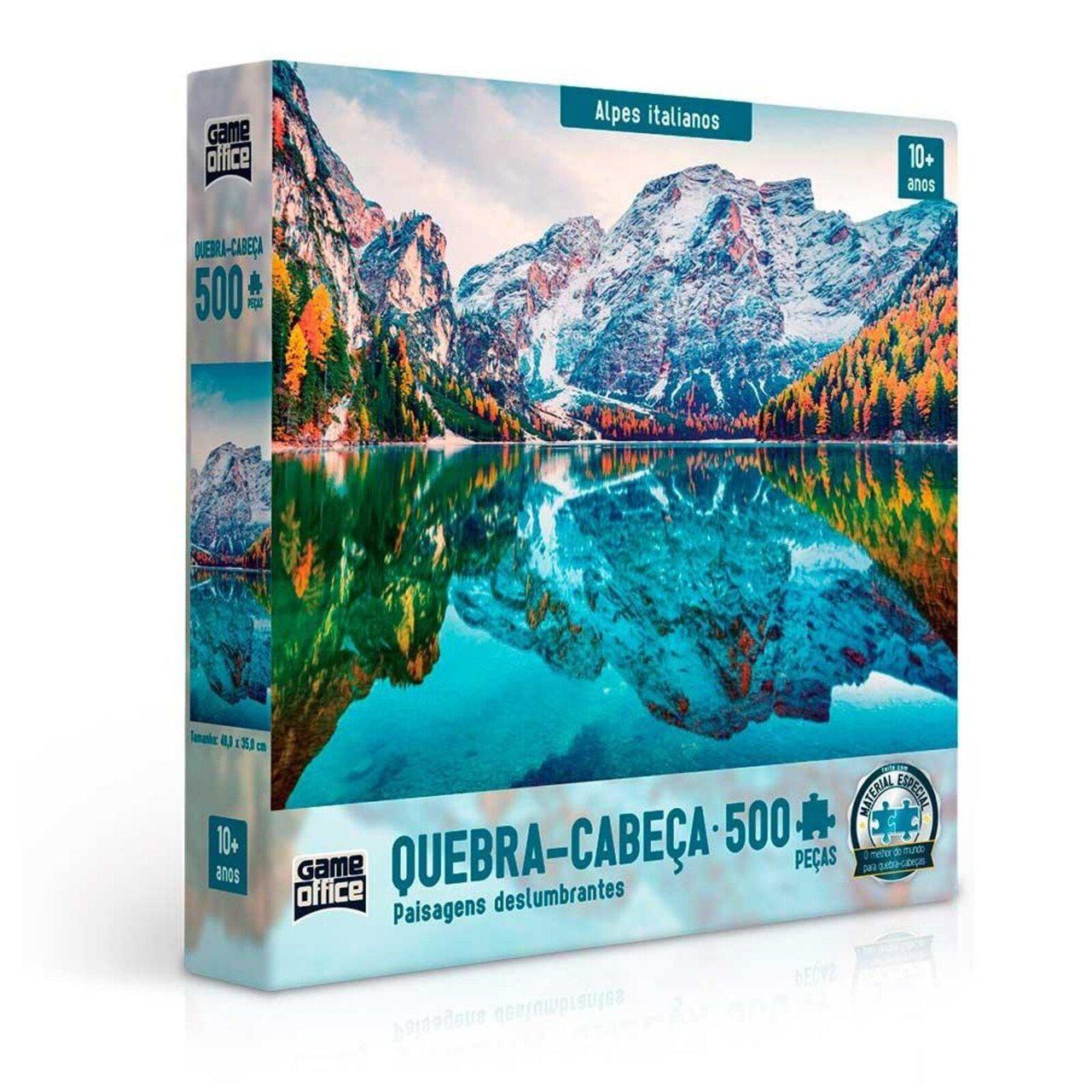 Quebra Cabeça Alpes Italianos 500 Peças - Toyster