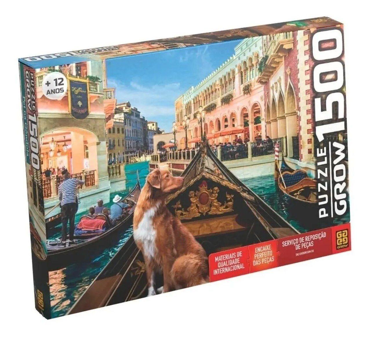 Quebra Cabeça Pet Na Gondola 1500 Peças - Grow