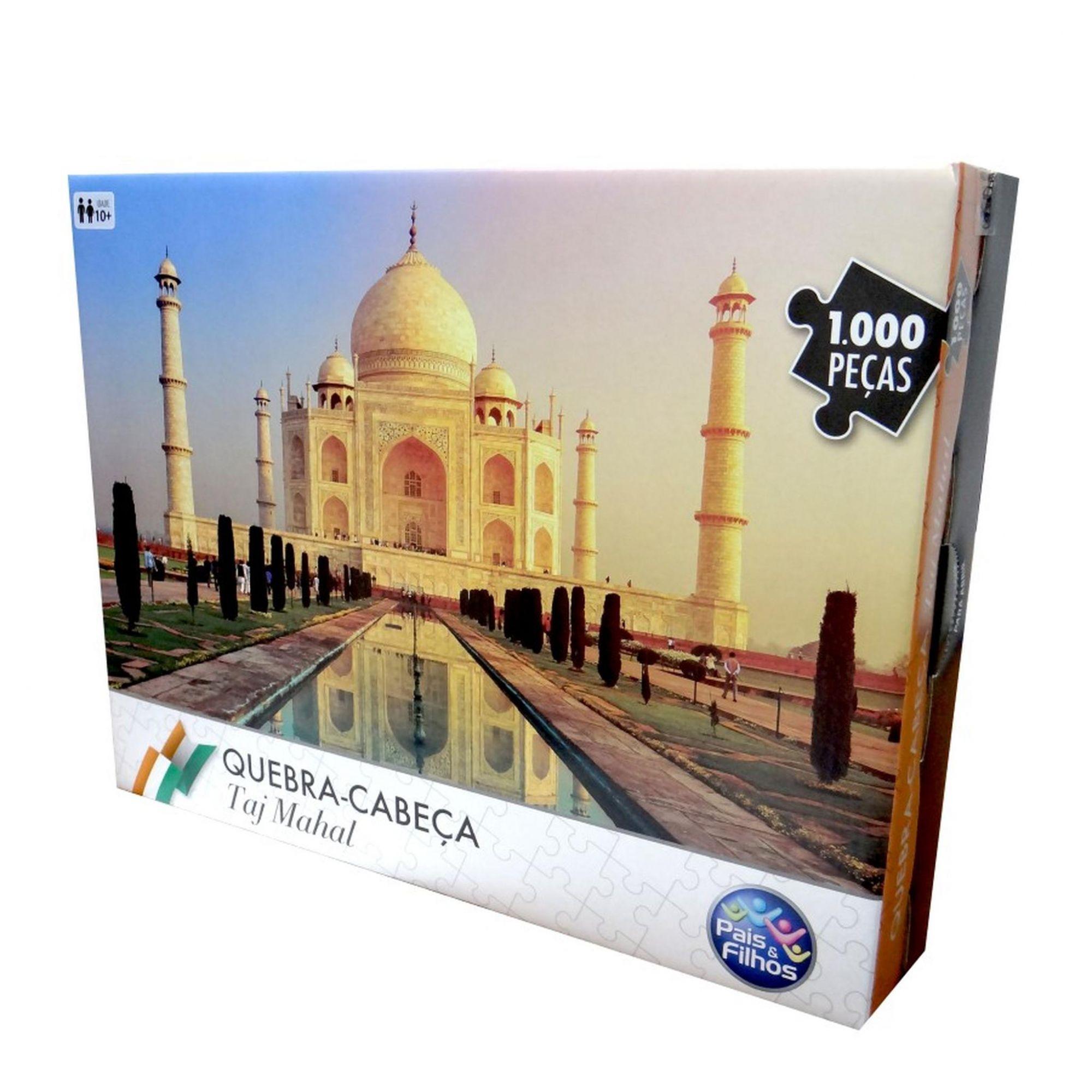 Quebra Cabeça Taj Mahal 1000 Peças - Pais e Filhos 7267