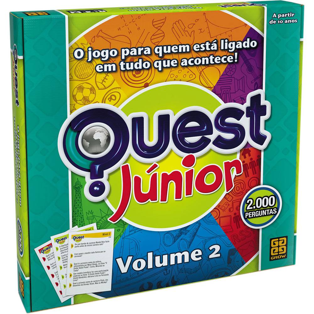 Quest Júnior Volume 2