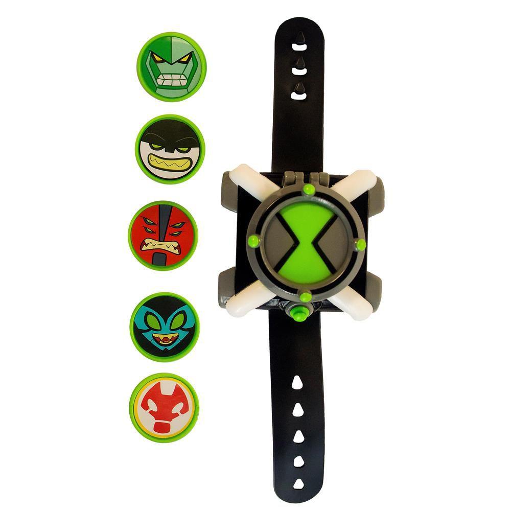 Relógio Ben 10 Omnitrix Lançador De Disco 1759