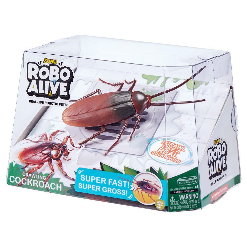 Robo Alive Barata de Brinquedo Com Movimento - Candide Zuru