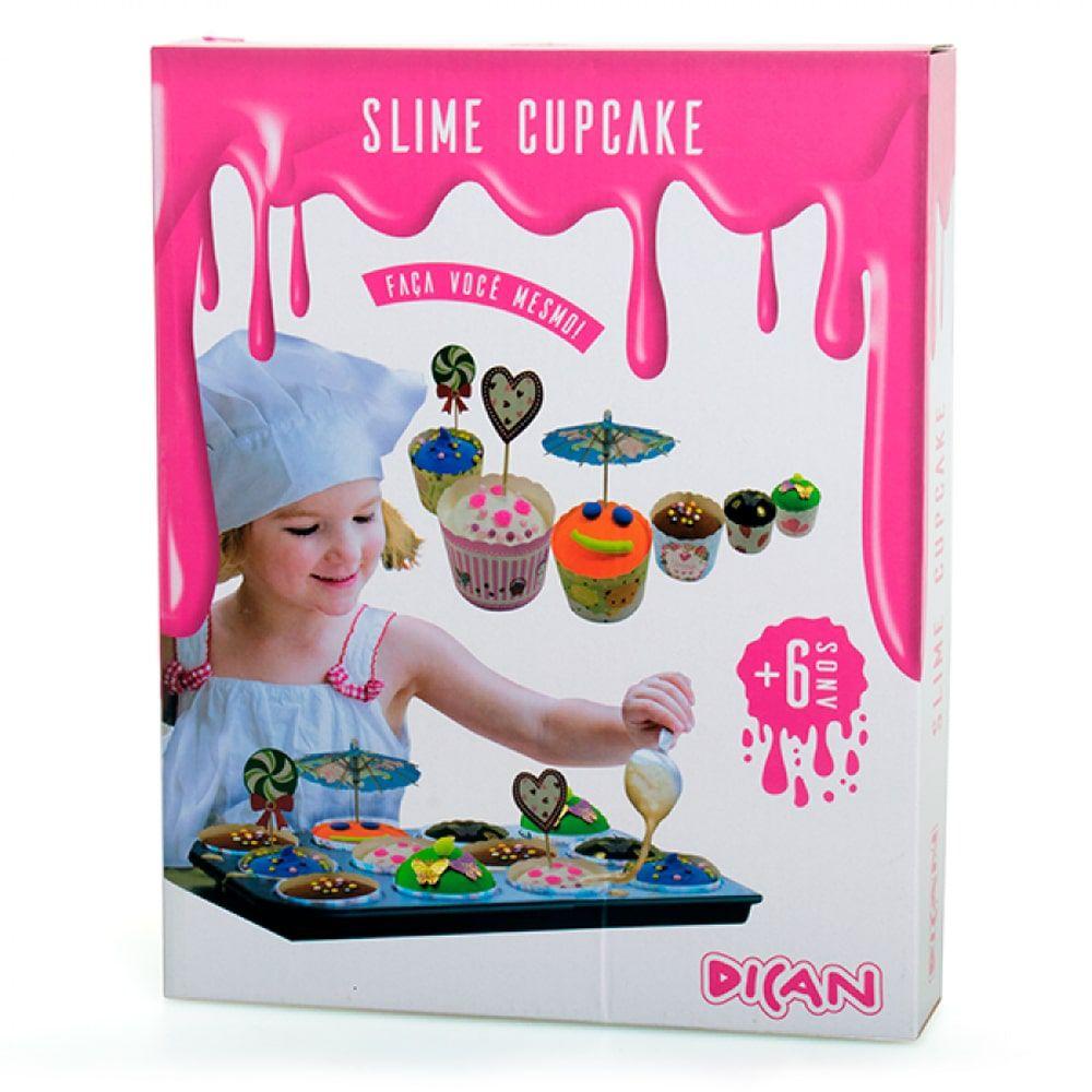 Slime Cupcake e Confeitos - Dican