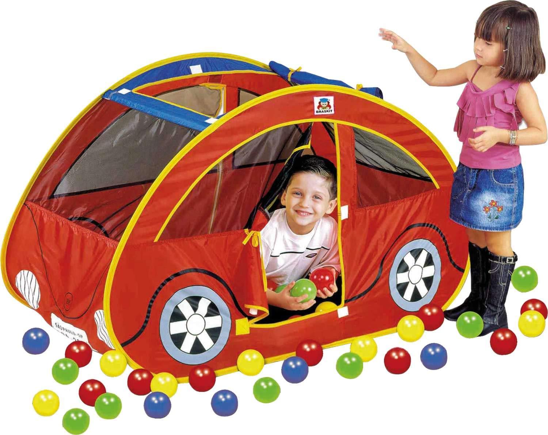 Tenda Barraca com 150 bolinhas Futoca Ball - Braskit