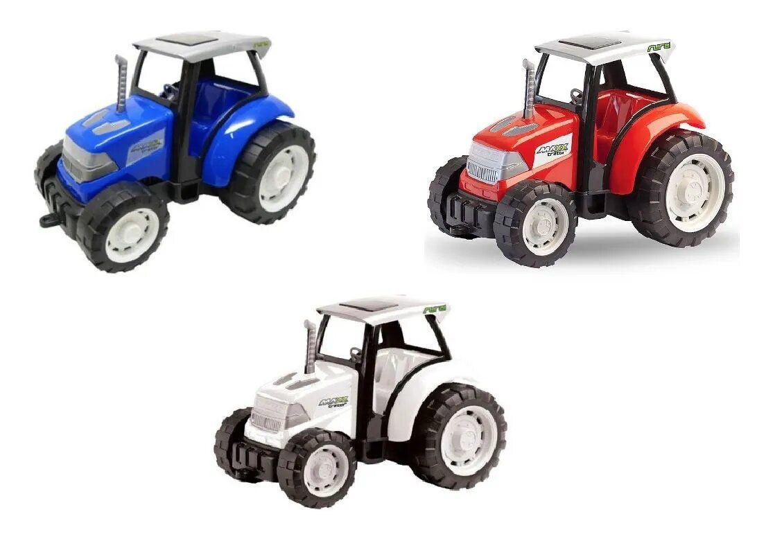 Trator Rural Miniatura de Brinquedo 25cm - Usual Brinquedos