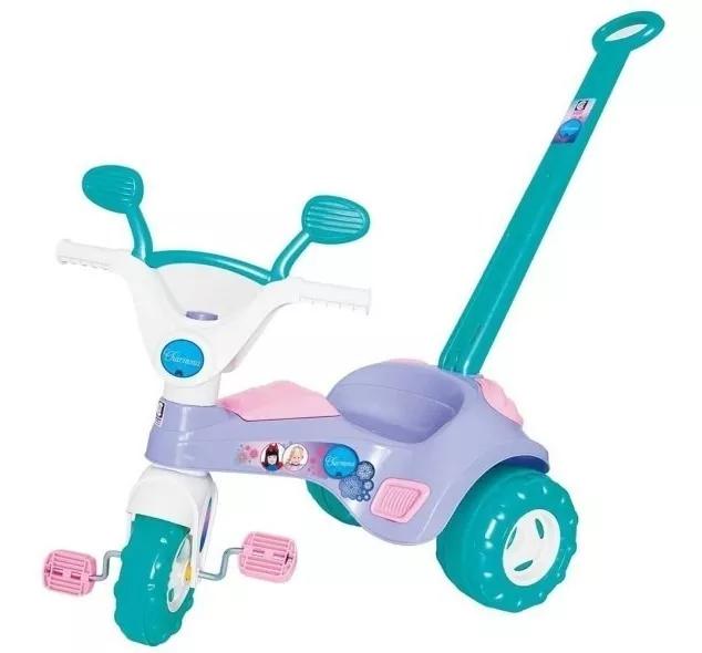 Triciclo Infantil Meninas Charmosa - Cotiplás 2047
