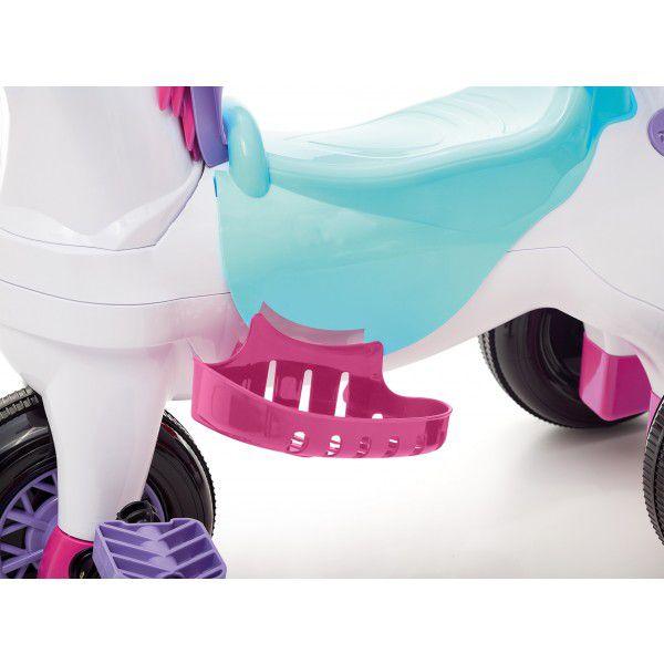 Triciclo Infantil Poponei Com Balanço - Tateti Rosa - 4061