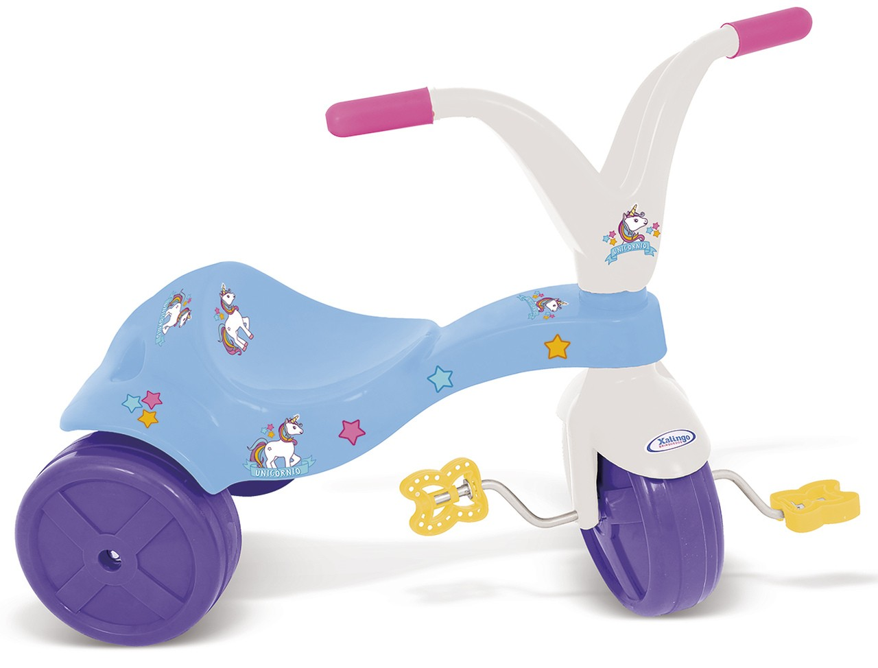 Triciclo Infantil Unicórnio - Xalingo 7687