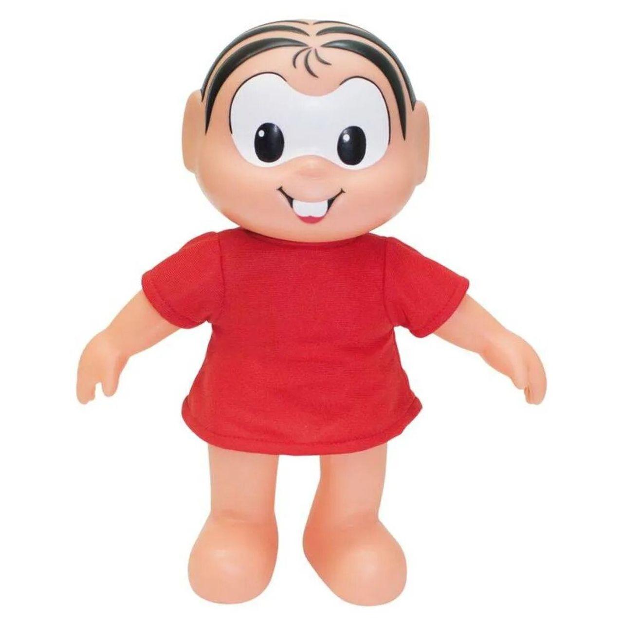 Boneca Turma Da Mônica Clássico Mônica 36cm Baby Brink 1025