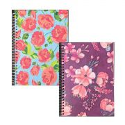 Caderno Colegial 1 Matéria Floral