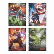 Caderno Univ.  Avengers Tilibra 1 Matéria