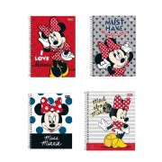 Caderno Universitário 10 Matérias Minnie Light 10