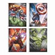 Caderno Universitário Avengers Tilibra 10 Matérias