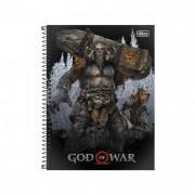 Caderno Universitário God Of War Tilibra 10 Matéri