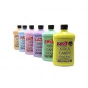 Cola Radex Candy Color Pastel p/ Slime 500g