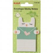 Envelopes Sticky Notes Gato B Eagle TYSN7398