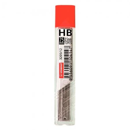 Grafite para Lapiseira Stabilo HB 0.5mm