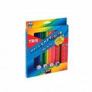 Lápis de Cor Mega SoftColor 24 Cores Tris