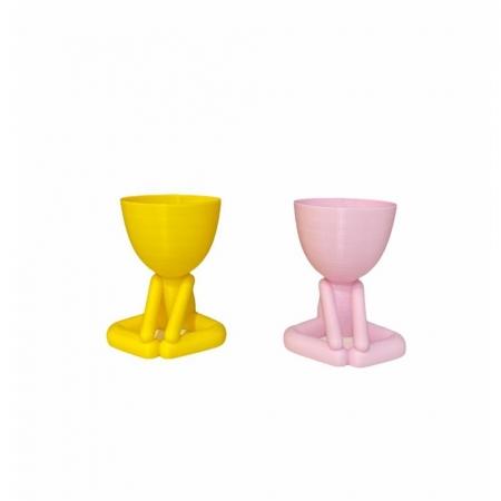 Vaso Mini Bob Sentado 3D