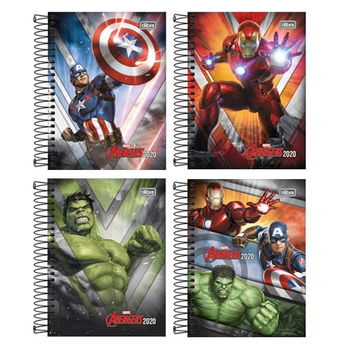 Agenda Espiral Avengers 2020
