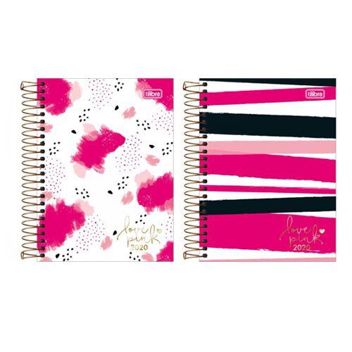 Agenda Espiral Love Pink 2020